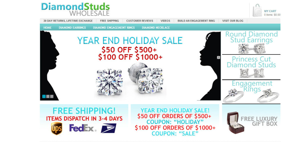 Diamond Studs Sale