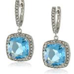 Swarovski Crystal, and Clear Crystal Dangle Earrings Sale